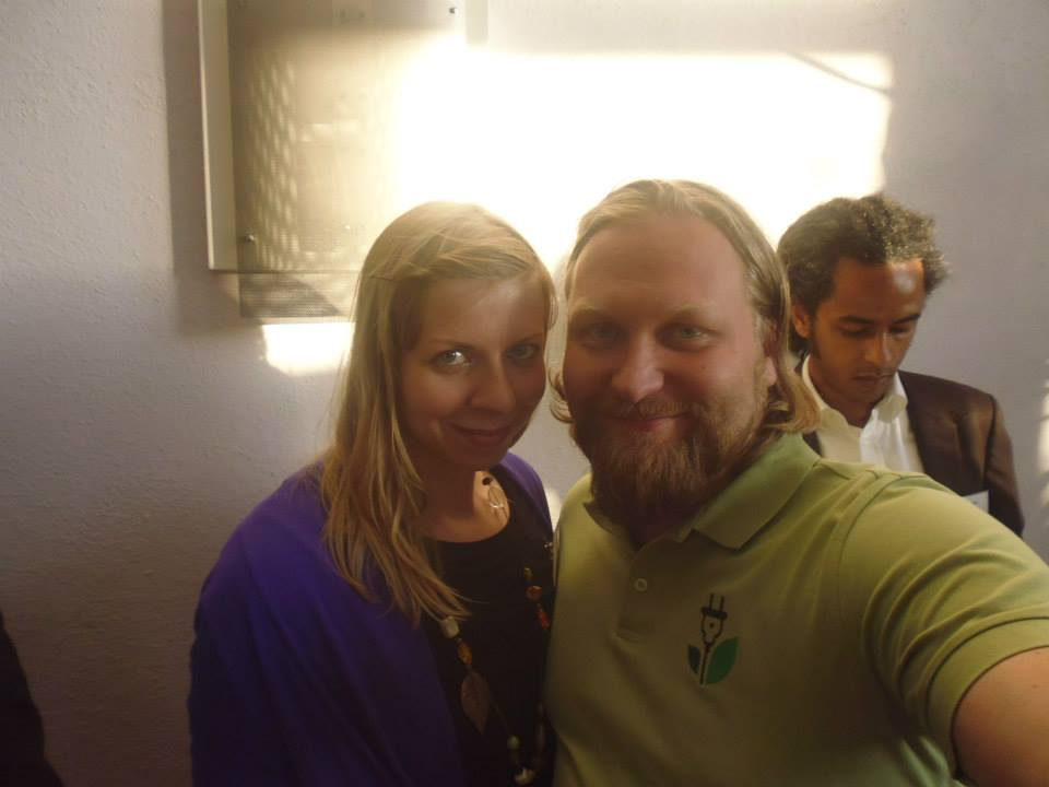 Johanna unterwegs mit Patrick & Torsten beim N-Klub Frankfurt