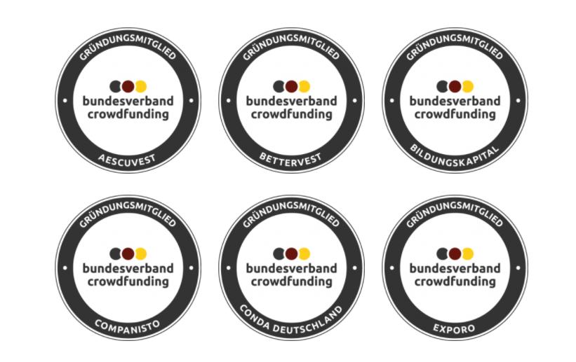 Gründungsmitglieder Bundesverband Crowdfunding e.V.