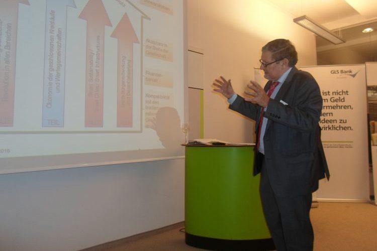 Prof. Dr. Dieter Flämig. Geschäftsführender stellvertretender Vorsitzender des Hauptverbandes für den Ausbau der Infrastrukturen und Nachhaltigkeit, kurz INFRANEU genannt.