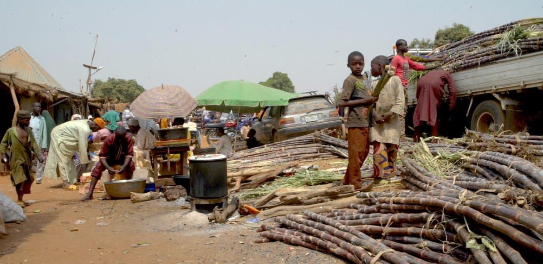 Projekt in Tunga Jika, Nigeria