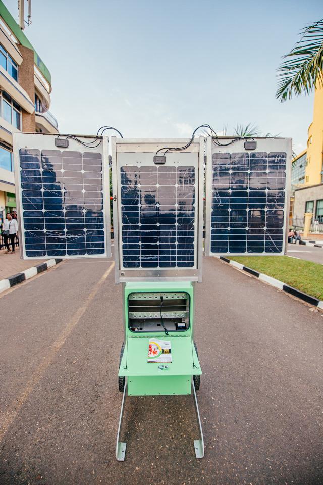 ARED SDGs Solar Hubs Solar Kiosk