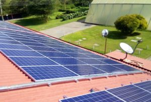 Solaranlage Blumenfarm Kenia Nachhaligkeit