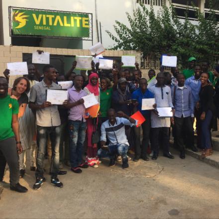 erfolgreiche Absolventen der VITALITE-Trainingsakademie